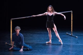 DEMO - Jerome Robbins_American Dance Genius_Damian Woetzel and Tiler Peck_Afternoon of a Faun_Photo by Teresa Wood