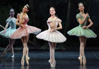 The Three DON CHISCIOTTE Nicoletta Manni Antonella Albano Virna Toppi ph Brescia e Amisano Teatro alla Scala