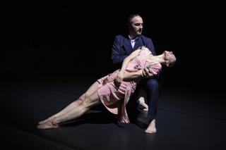 Cynthia Loemij and Bostjan Antoncic  photo by Maria Baranova