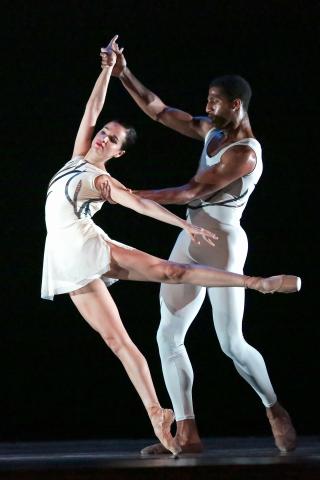 Dance Theatre of Harlem in Claudia Schreier's Passage_Dancers Yinet Fernandez  Derek Brockington_Photo by Brian Callan (3)