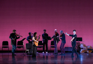 DEMO - NOW 2020_Guitarist Alberta Khoury and dancer Roman Mejia in Fandango with Brooklyn Rider_Photo by Mena Brunette